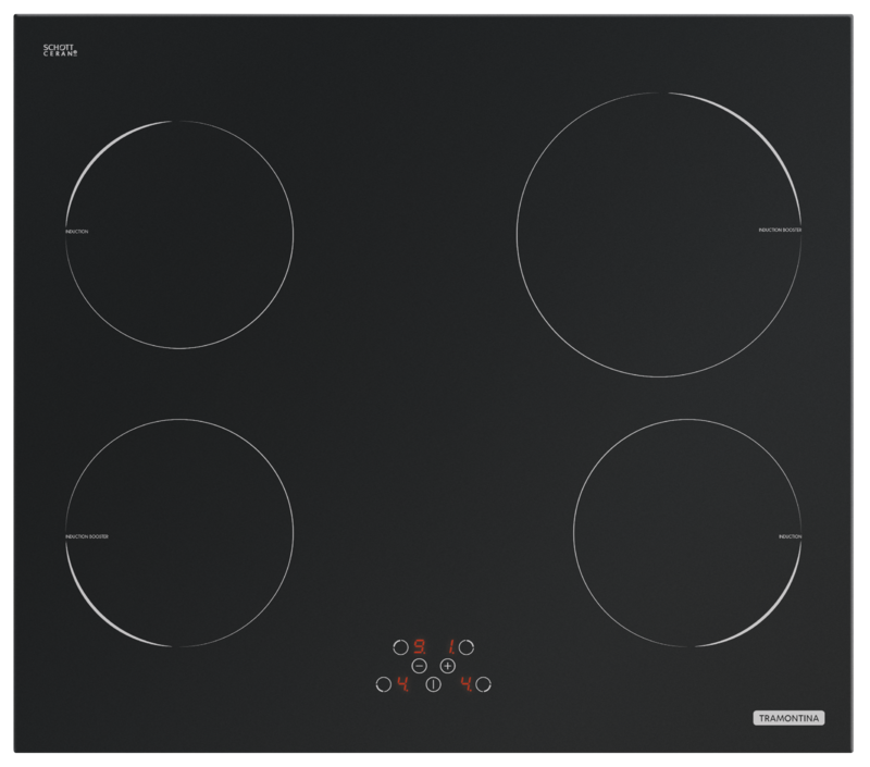 Cooktop New Square Touch B 4EI 60 - Tramontina